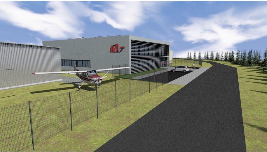 AZL buduje Centrum Szkolenia Mechaników Lotniczych